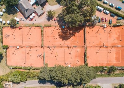 Club del Bosque vista aerea